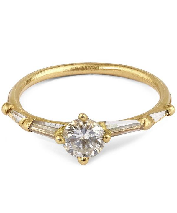 Gold Coco Halo Ring