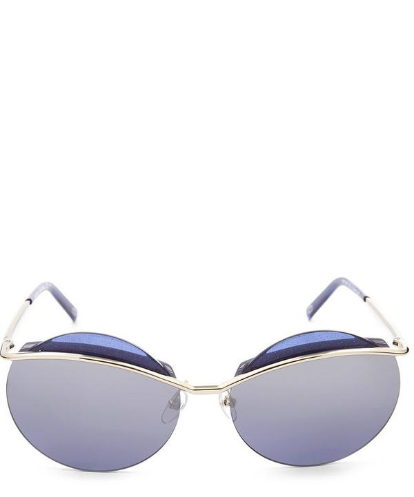 Round Sliced Sunglasses