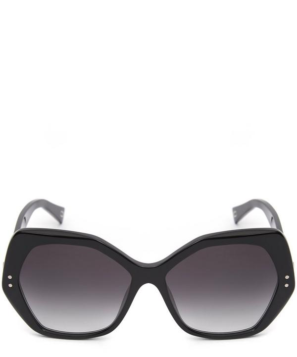 Angular Statement Sunglasses