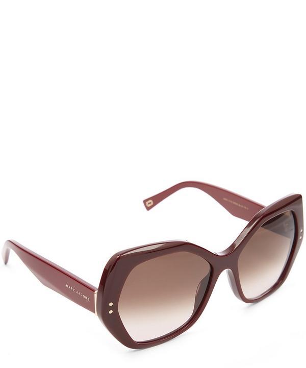 Angular Statement Sunglasses