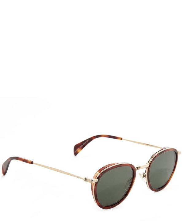 Gold Edged Sunglasses