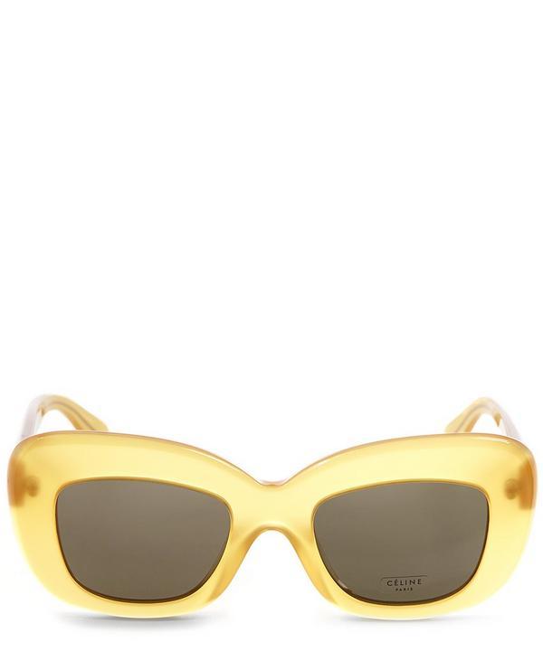 Bold Angled Sunglasses
