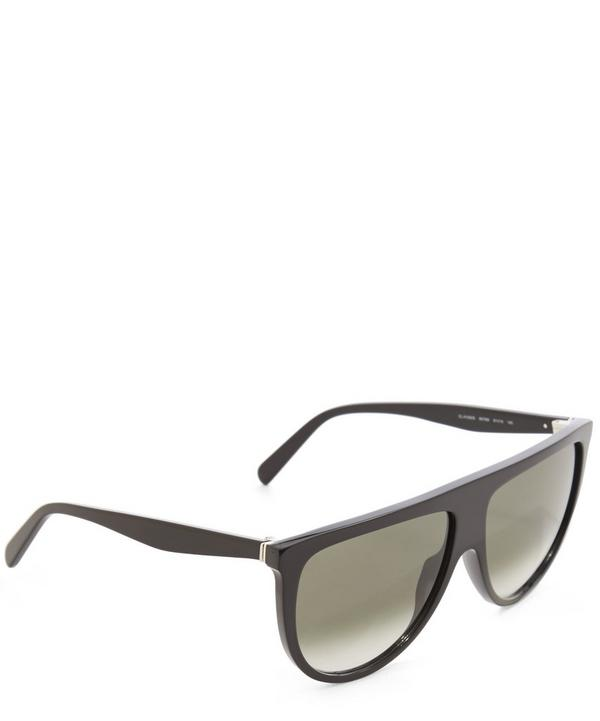 Half Moon Gradient Sunglasses