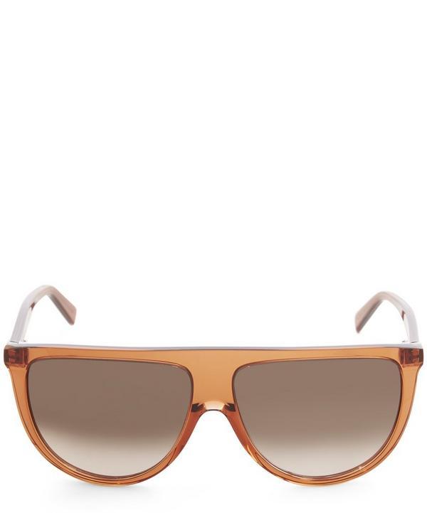 Half Moon Gradient Sunglasses