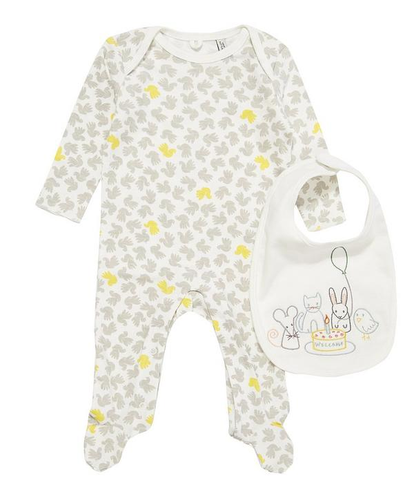 Sparrow Baby Grow and Bib Set