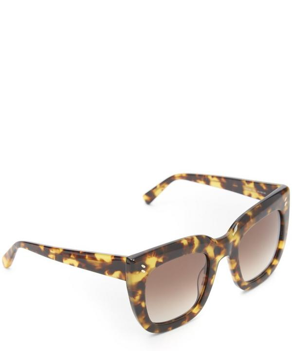 SC0033S Chunky Geometric Sunglasses