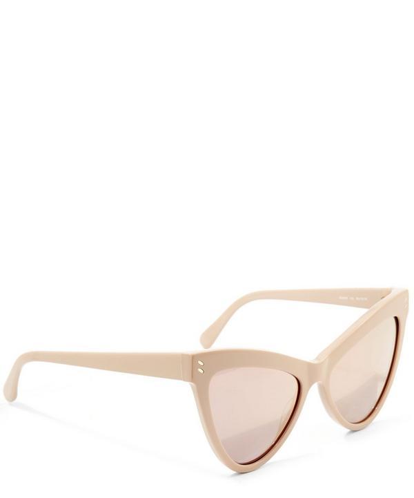 Angular Cat-Eye Sunglasses