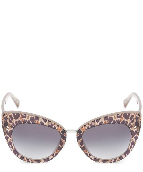 Rounded Cat-Eye Sunglasses