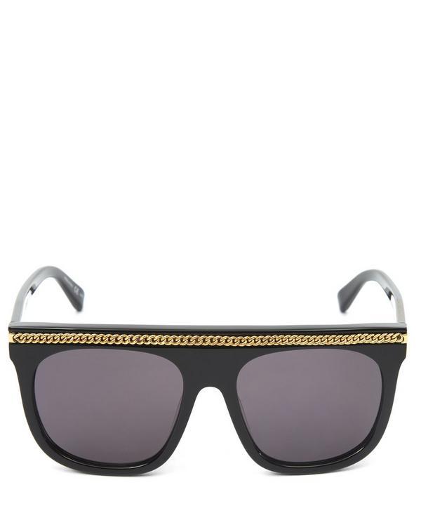 Chunky Falabella Chain Sunglasses