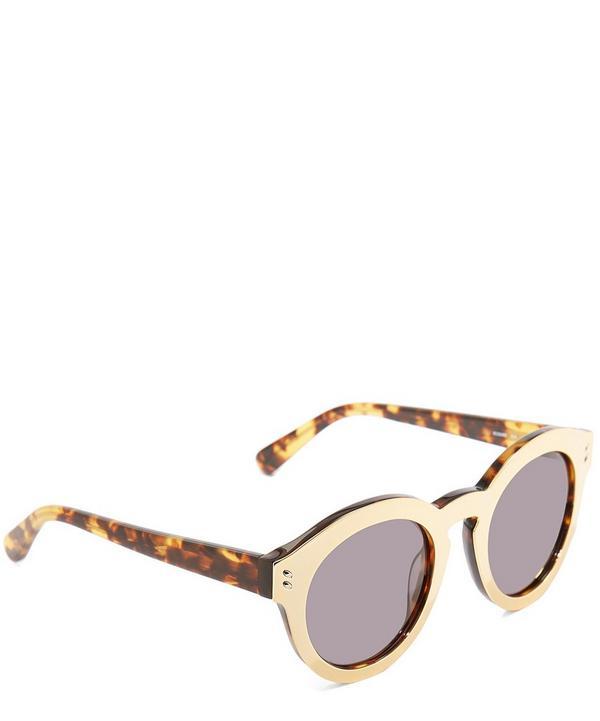 Round-Frame Sunglasses