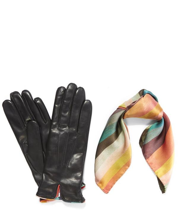 Scarf and Gloves Gift Set