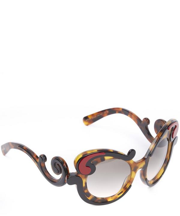 23NS Ornamental Cat Eye Sunglasses