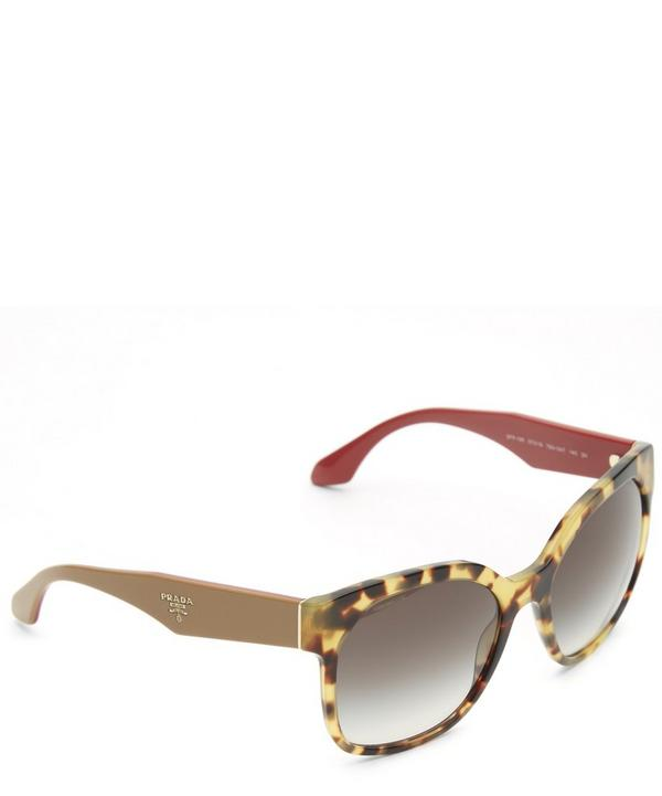 10RS Square Havana Sunglasses