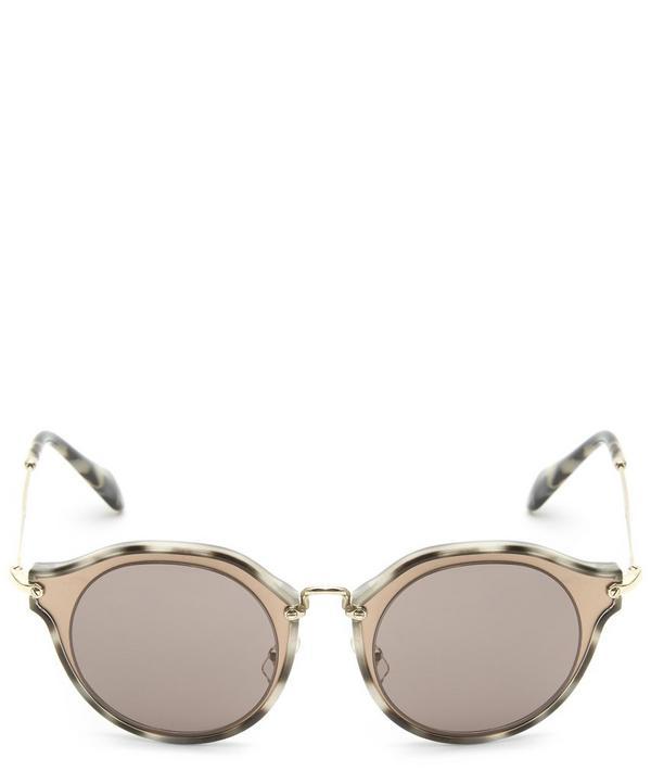 55SS Round Sunglasses