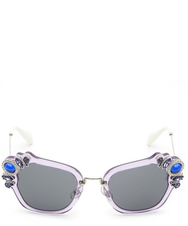 03SS Bejwelled Catwalk Sunglasses