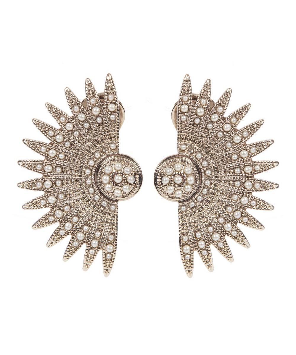 Tulia Pearl Stud Earrings