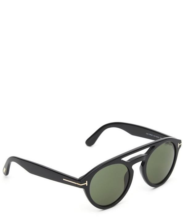 FT0537 Round Acetate Aviator Sunglasses