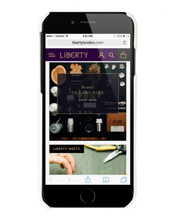 Carrara Border iPhone Case