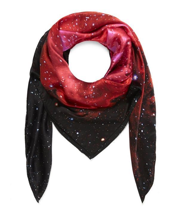 Nebulae 1 Silk Scarf