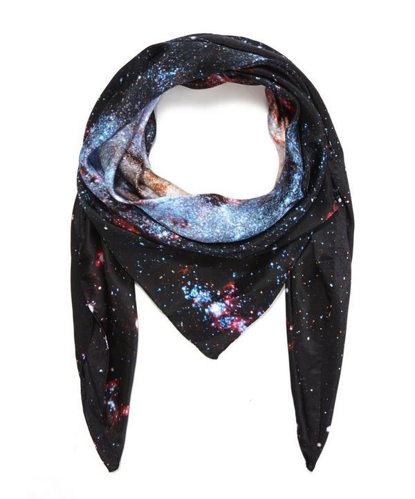Nebulae 6 Silk Scarf