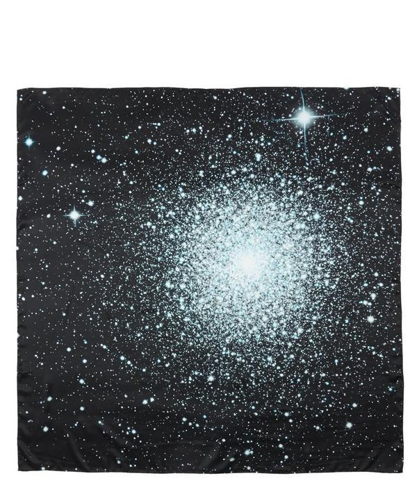 Nebulae 39 Silk Scarf
