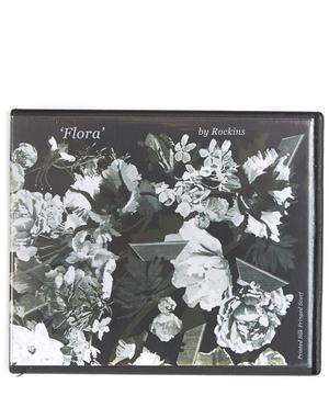 Flora Classic Skinny Fringed Scarf
