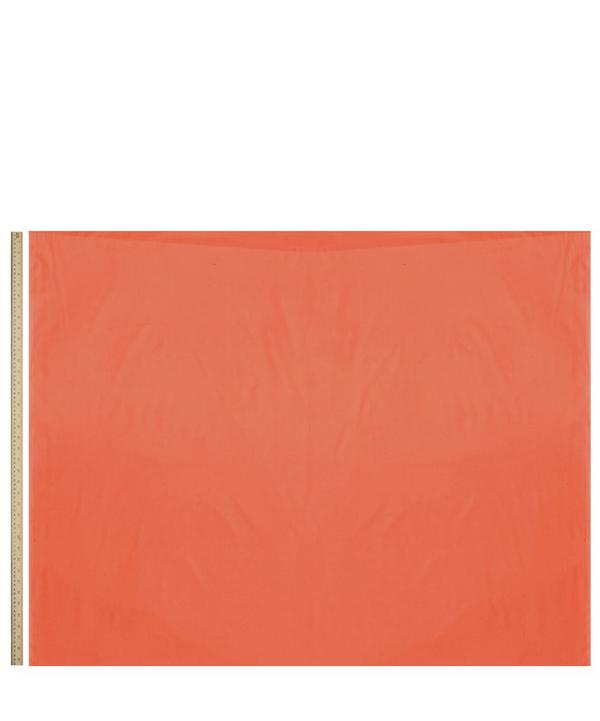 Mandarin Orange Plain Tana Lawn Cotton