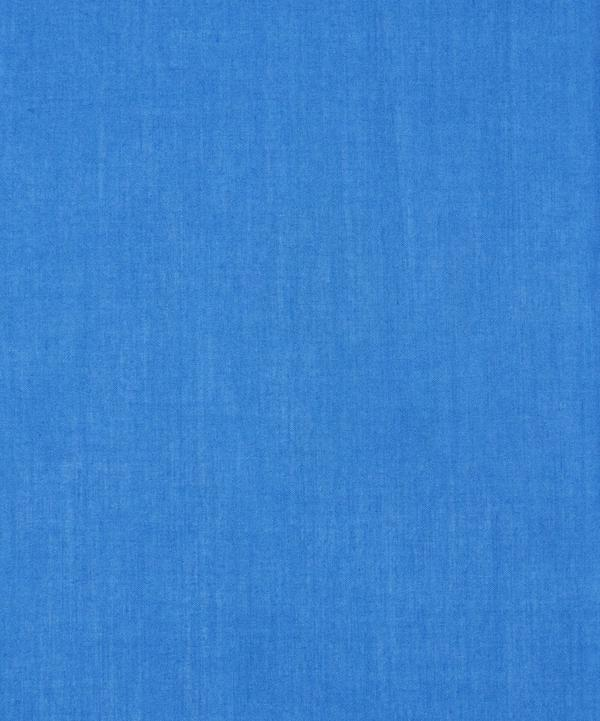 Electric Blue Plain Tana Lawn Cotton