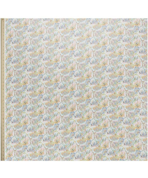Paisley Corals Silk Crepe de Chine