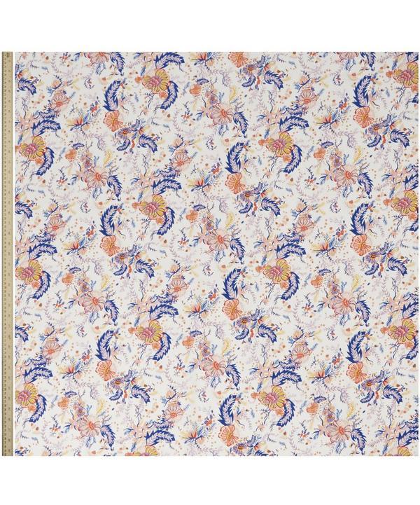 Aquatic Bloom Silk Crepe de Chine