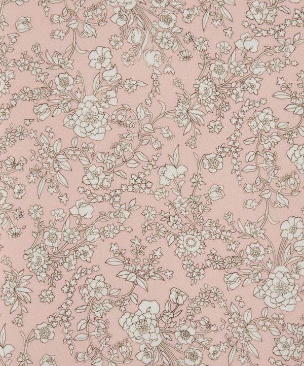 Summer Blooms Silk Crepe de Chine