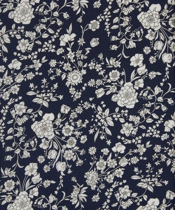 Summer Blooms Silk Crepe de Chine