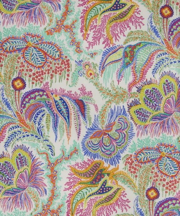 Paisley Corals Belgravia Silk Satin