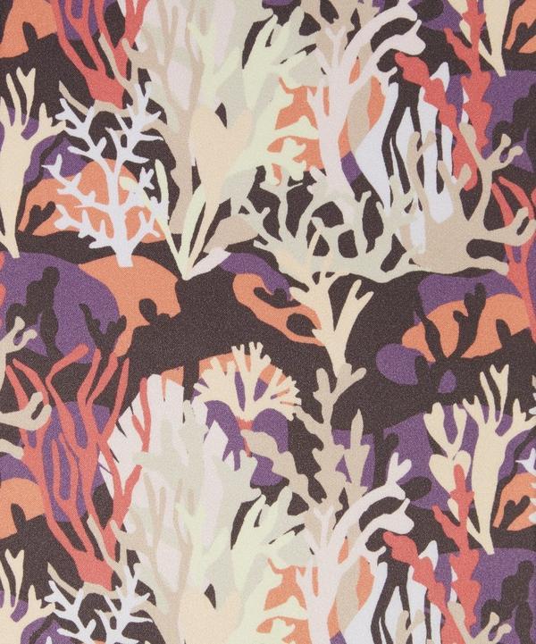 Coral Camo Belgravia Silk Satin