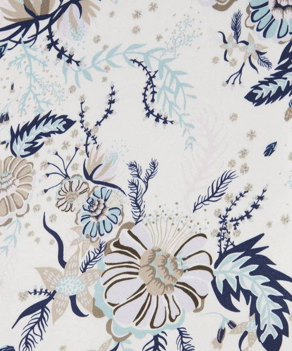 Aquatic Bloom Belgravia Silk Satin