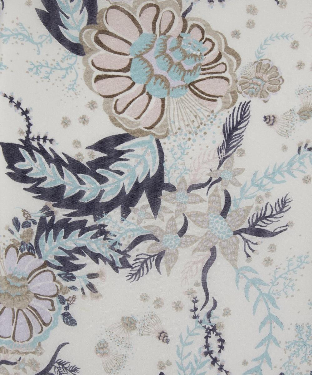 Aquatic Bloom Regent Chiffon