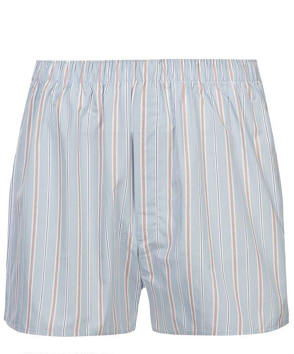 Multi Colour Stripe Boxer Shorts