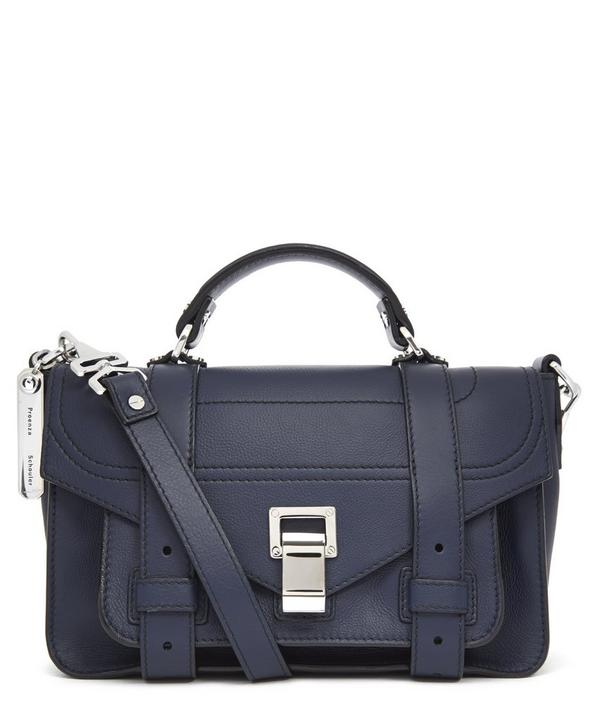 PS1+Tiny Calf Leather Crossbody Bag