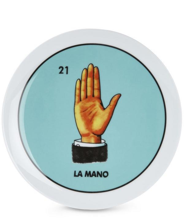 Loteria La Mano Plate