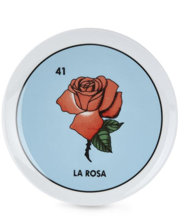 Loteria La Rose Plate