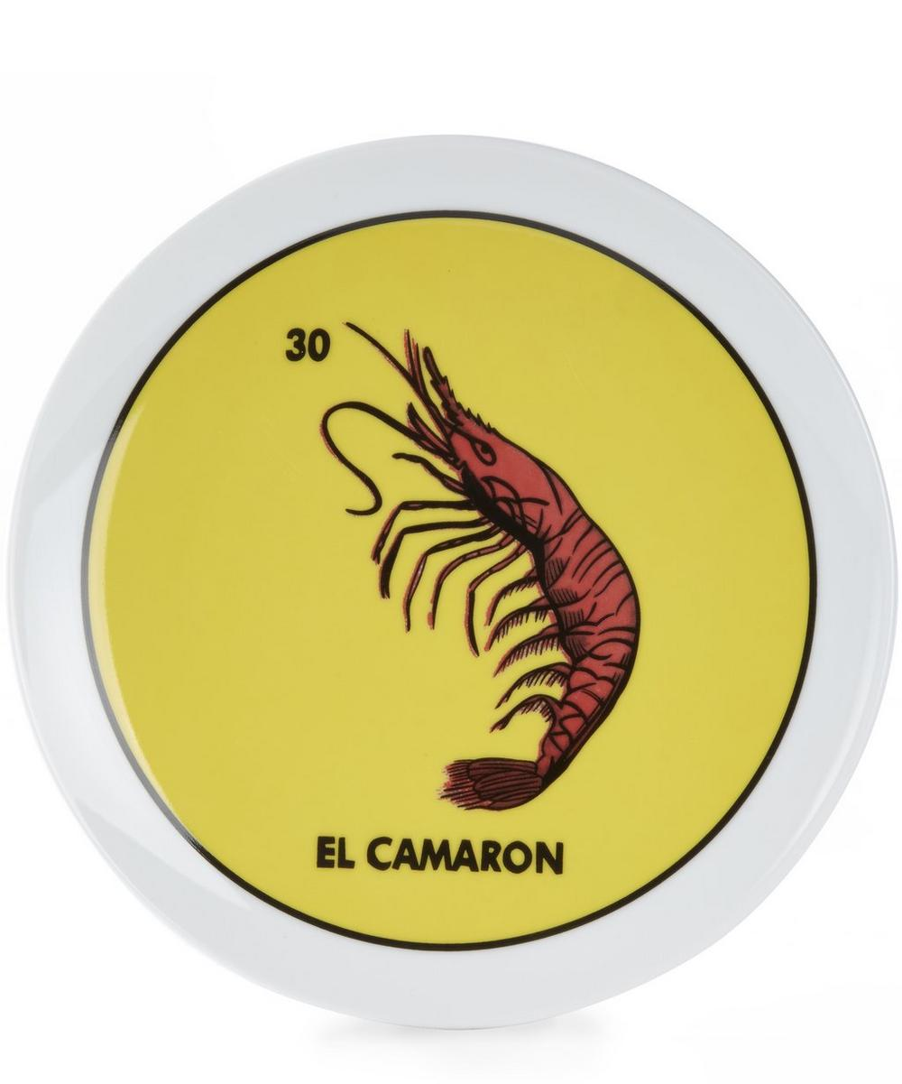 Loteria La Cameron Plate
