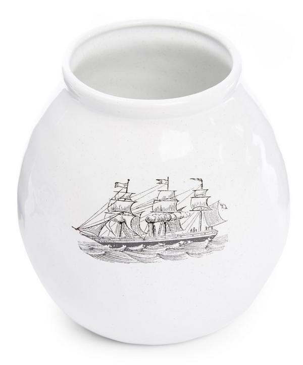 Ship Vase