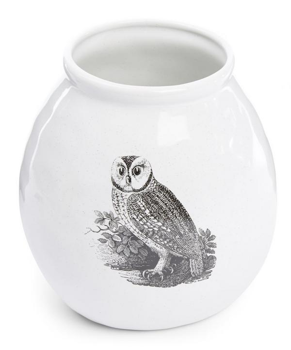 Adorn Owl Vase