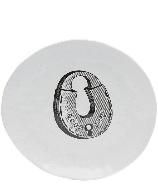 Small A Padlock Platter