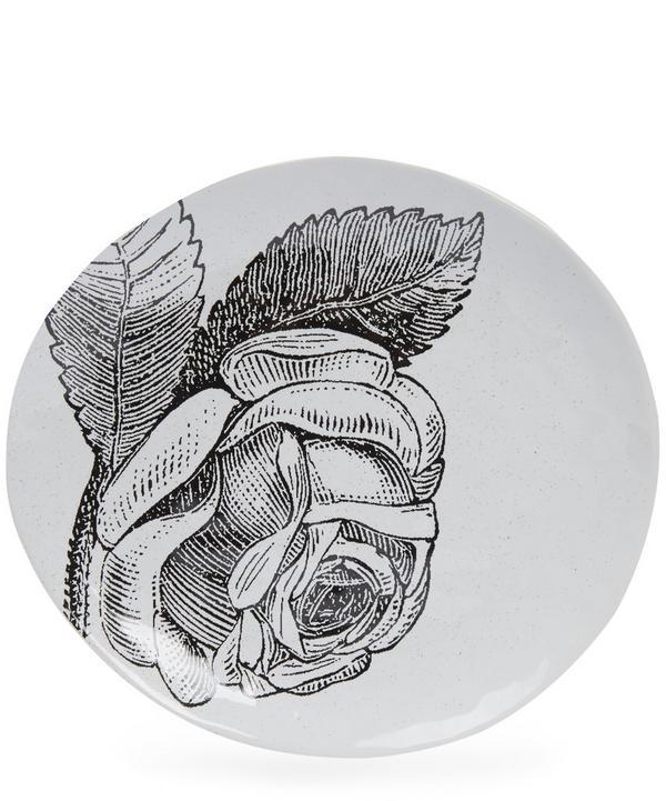 Small Adorn Rose Platter