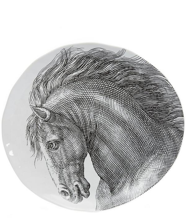 Adorn Horse Platter
