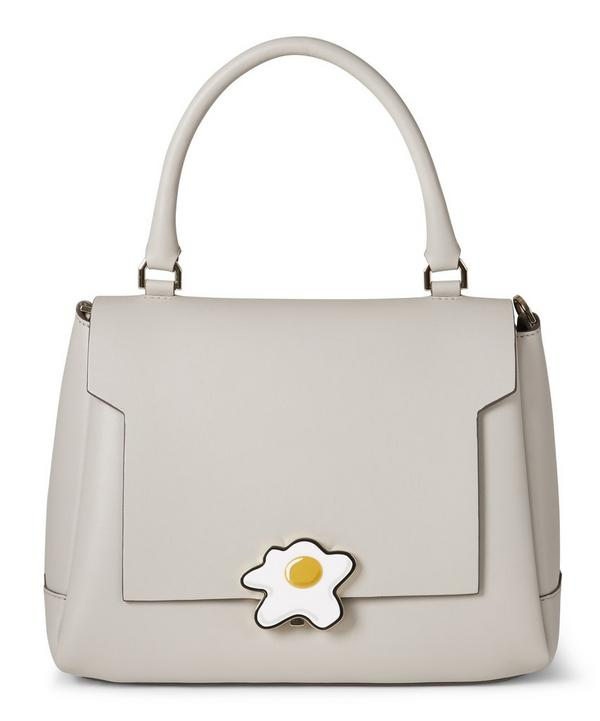 Egg Bathurst Small Leather Satchel Bag