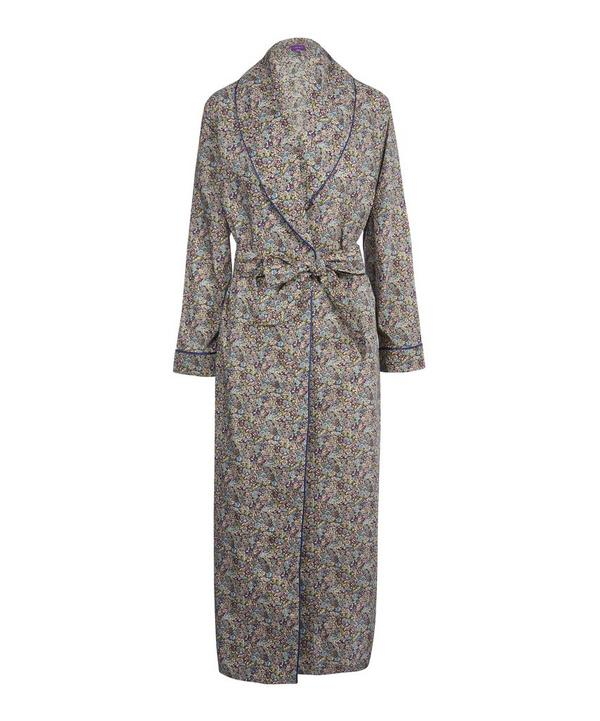 Chive Long Cotton Robe