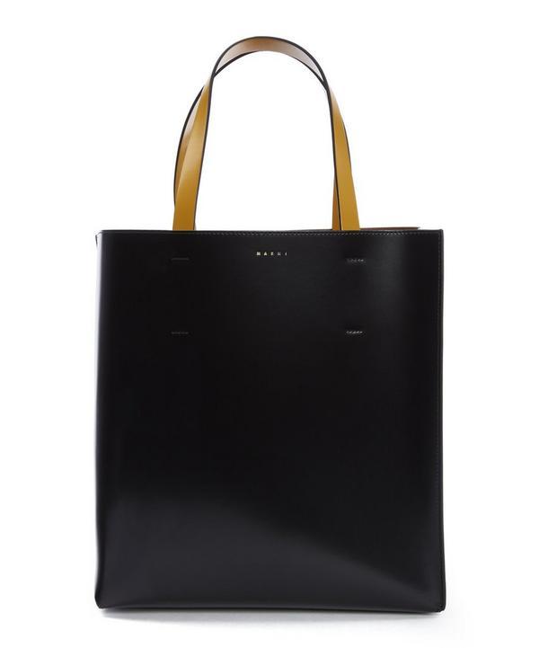 Bi-Colour Handle Shopper Tote Bag