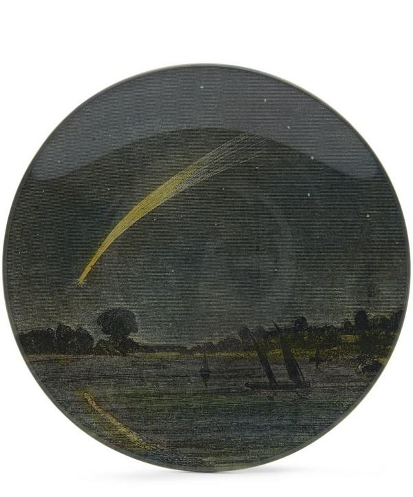 Shooting Star Round Plate